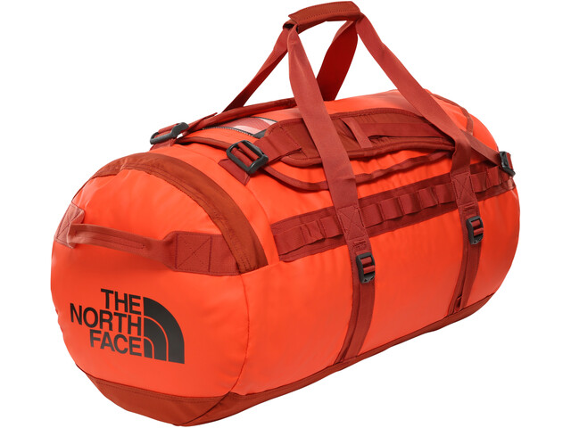 The North Face Base Camp Duffelilaukku M, acrylc orange/picante red